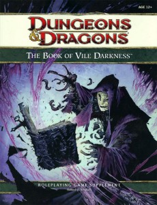 Book of Vile Darkness - Dungeons & Dragons